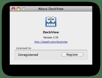 DockView