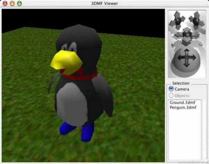 3DMF Viewer