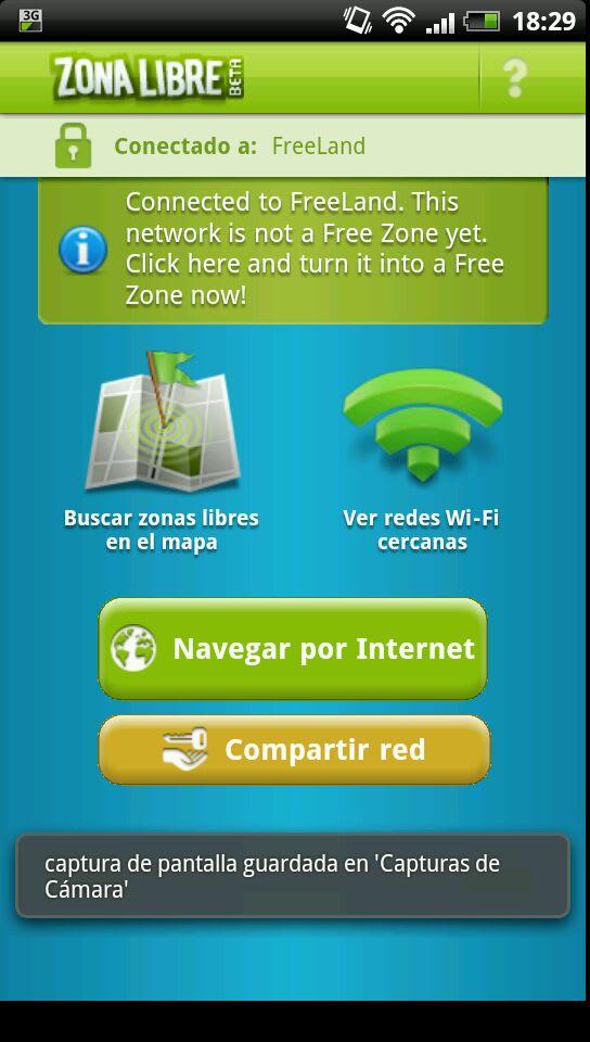 Zona Libre Wi-Fi