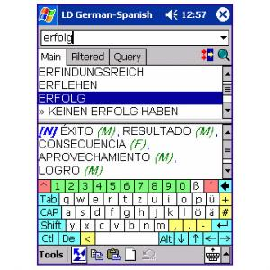 LingvoSoft Dictionary Deutsch-Spanisch