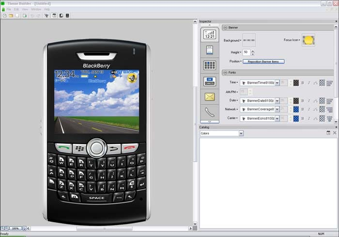 BlackBerry Theme Studio