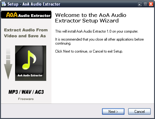 AoA Audio Extractor