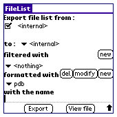 FileList