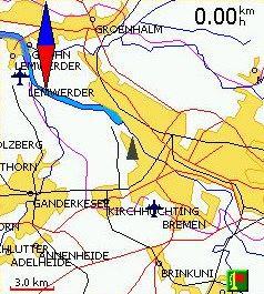 Vito Deutschlandkarte