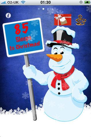 Sleeps to Christmas - Christmas Countdown
