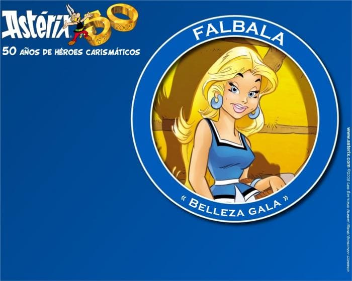 Asterix y Obelix 50th Anniversary Wallpaper Collection