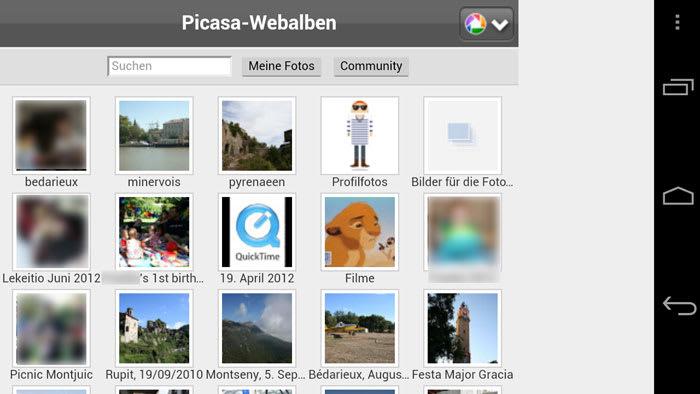 Picasa Mobile