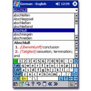 SlovoEd PPC: English-German