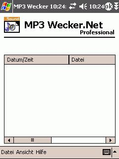 MP3 Wecker Professional.NET