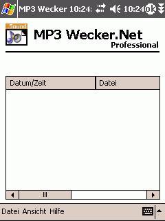 MP3 Wecker Professional.NET