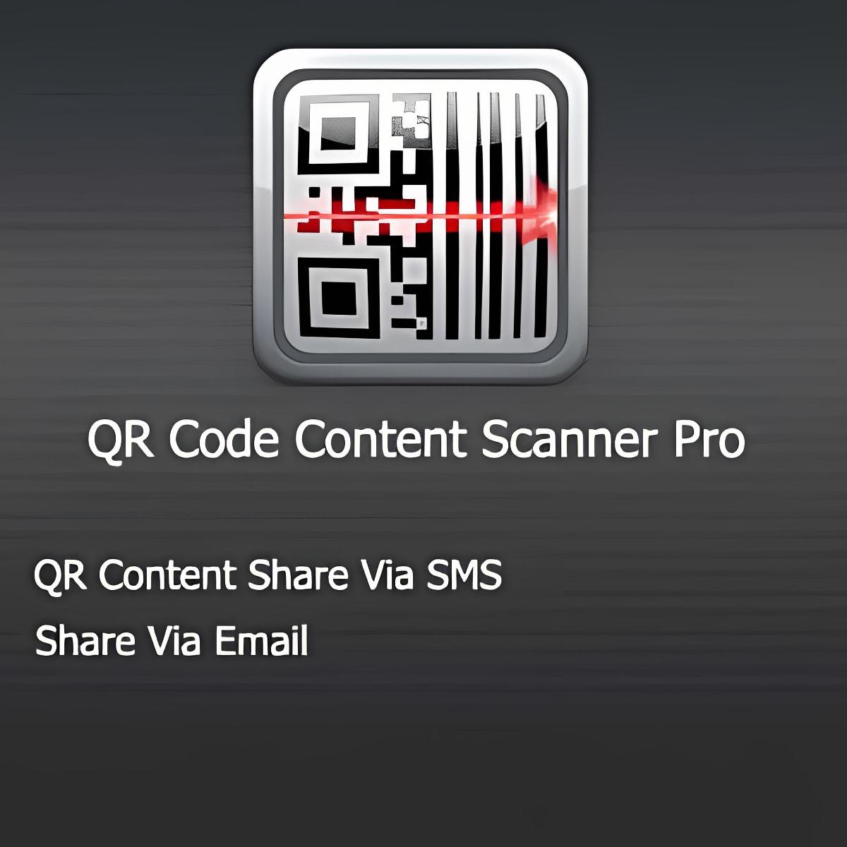 QR Code Content Scanner Pro