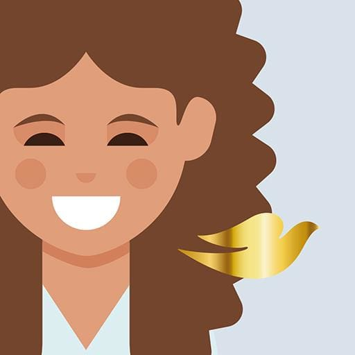 Dove Love Your Curls Emojis 1.0
