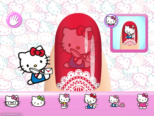 Hello kitty nail salon for android download nails an instant makeover with hundreds of different variations once youre done save a copy of your final makeover to your camera roll and share prinsesfo Images