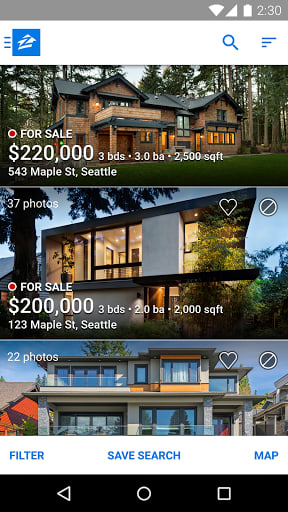 Zillow real estate rentals for android download softonic review gumiabroncs Gallery