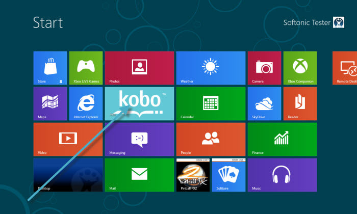Kobo pour Windows 10