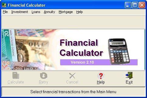 Financial Calculator