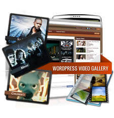 Wordpress Video Gallery 2.5