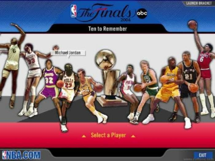 NBA The Finals 2004