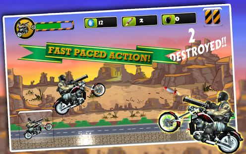 Angry Harlem Bikers Death Race