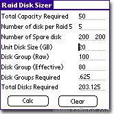 Raid Disk Sizer