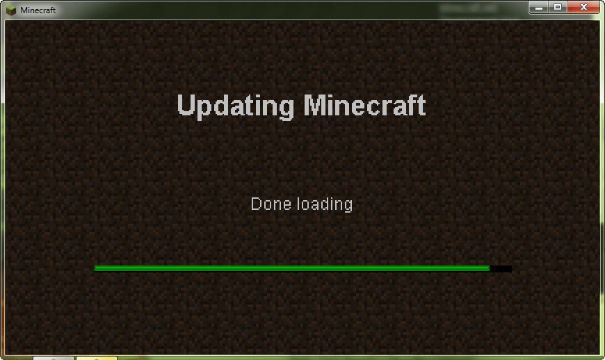 Minecraft Demo Fix