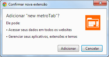 new metroTab