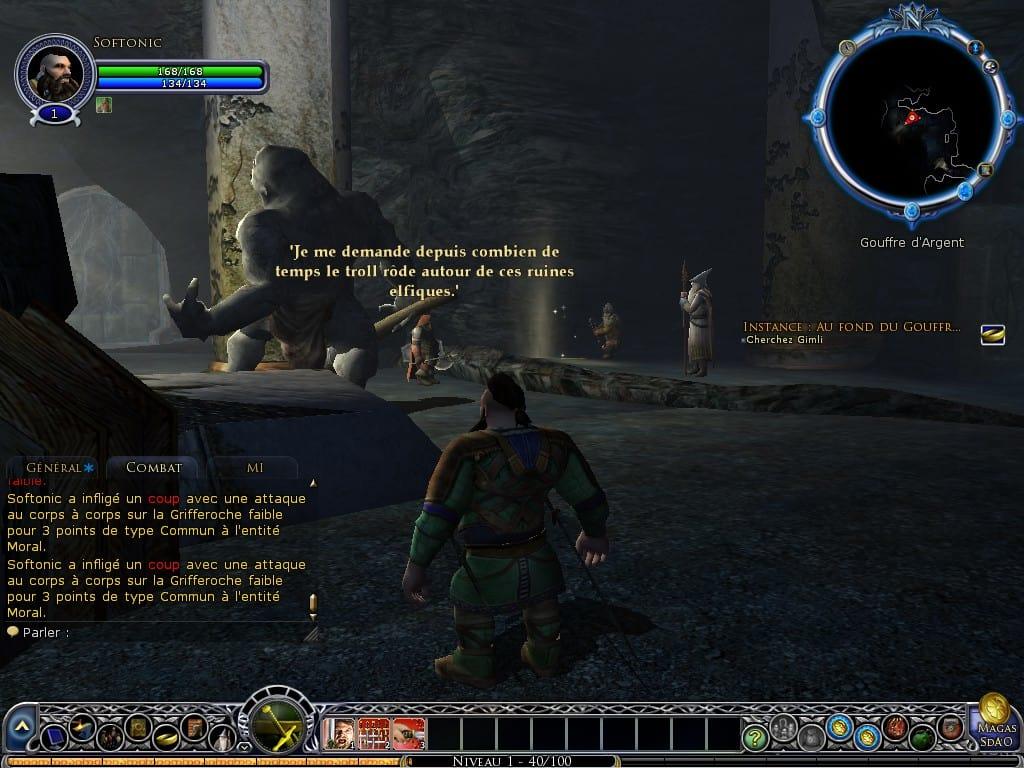 Seigneur des anneaux online guide