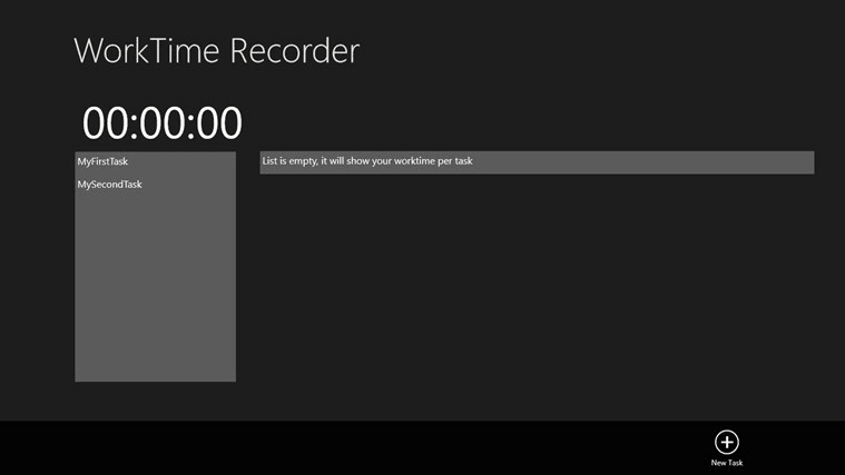 TimeRecorder para Windows 10
