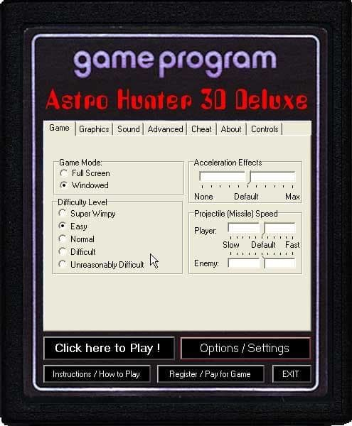 Astro Hunter 3D