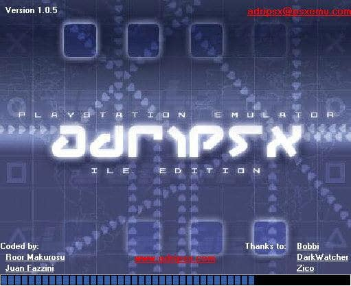 AdriPSX Playstation Emulator