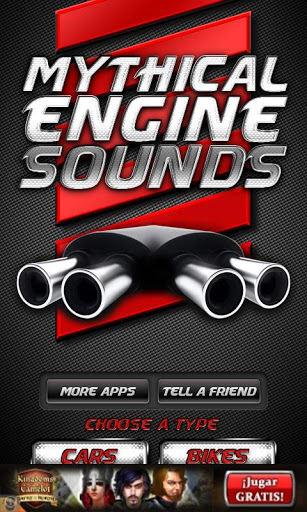 Sonidos de Motores Míticos