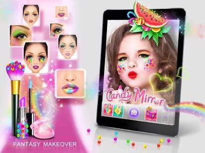 Candy Mirror! Fantasy Makeover