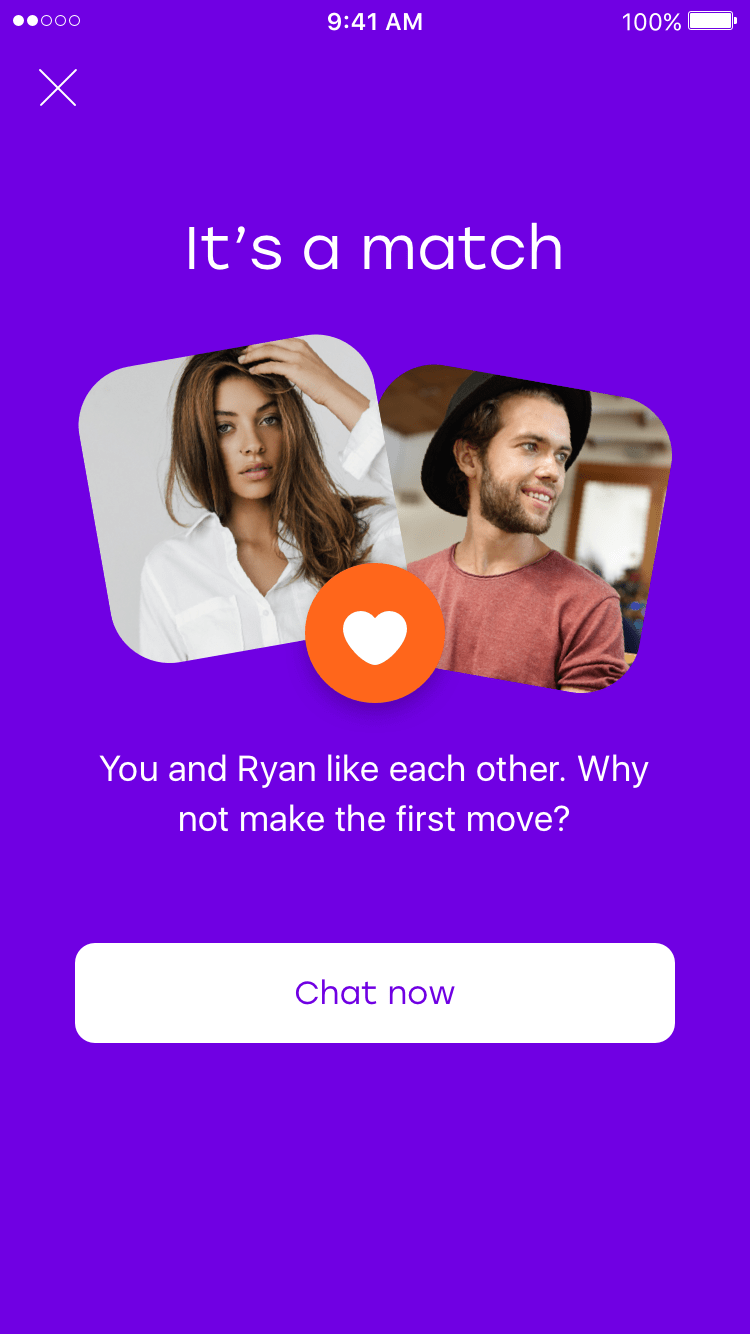 Dating app where the girl messaged first