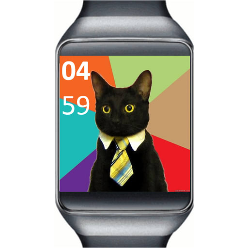 GIF Watch Face - Android Wear