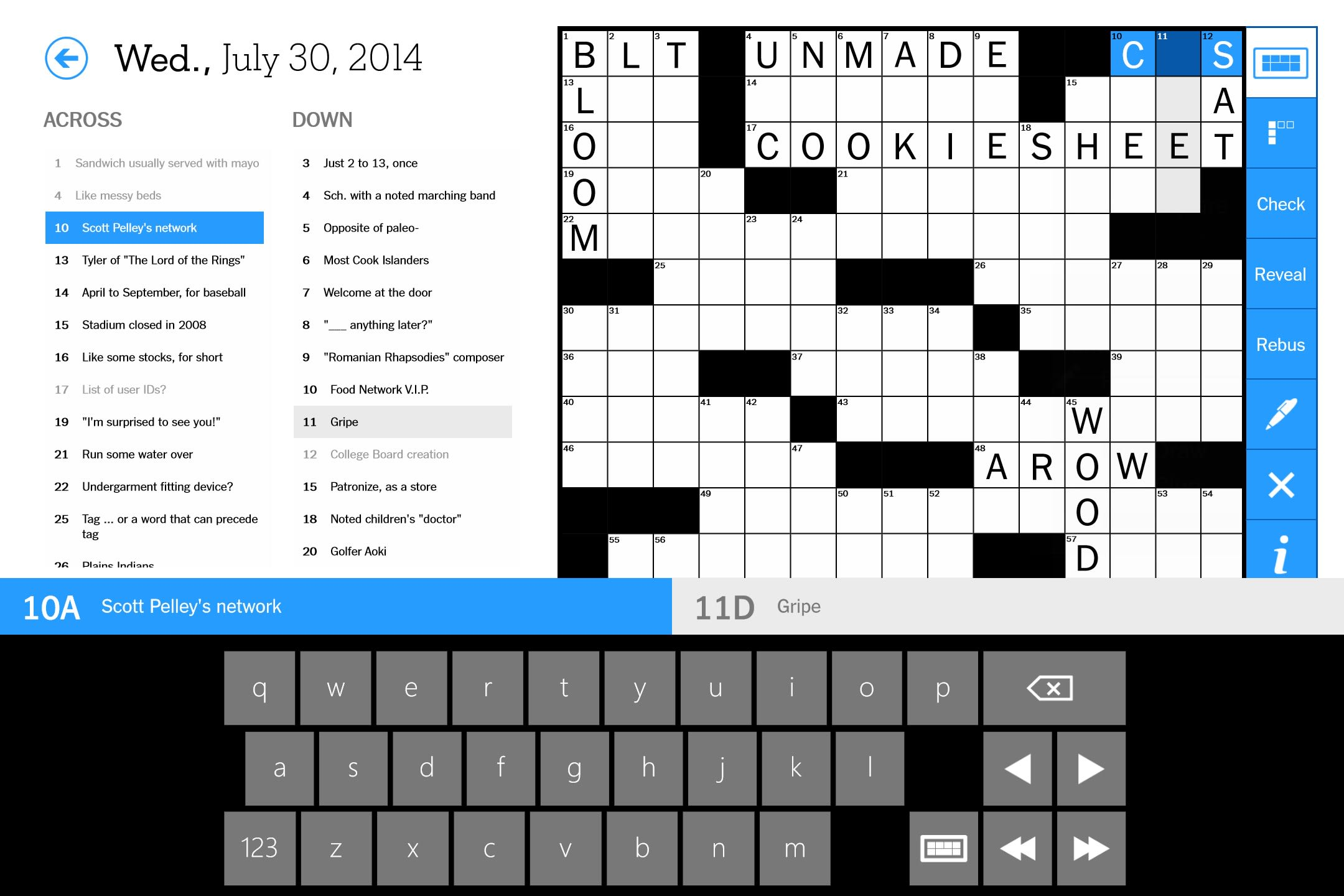 The New York Times Crossword