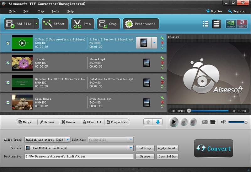 Aiseesoft WTV Convertisseur