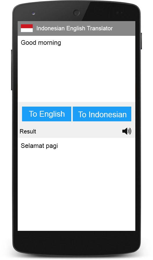 Indonesian English Translator