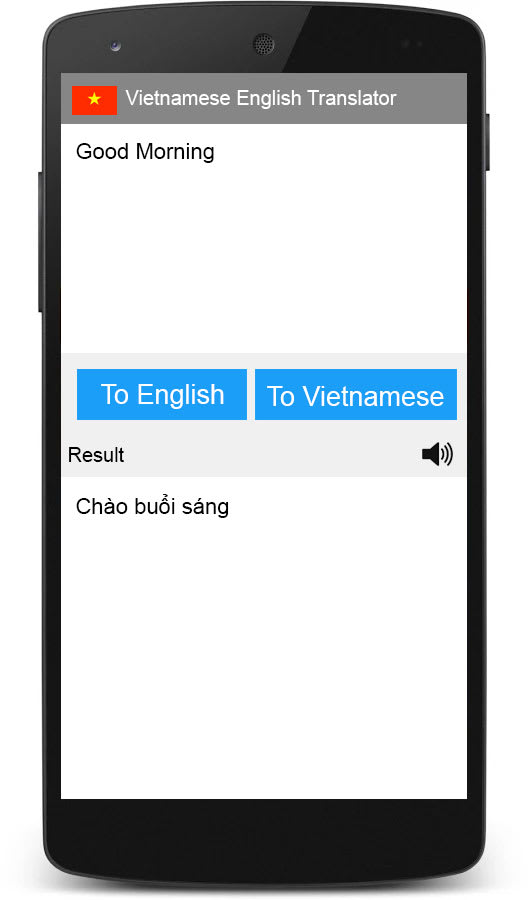 Vietanamese English Translator