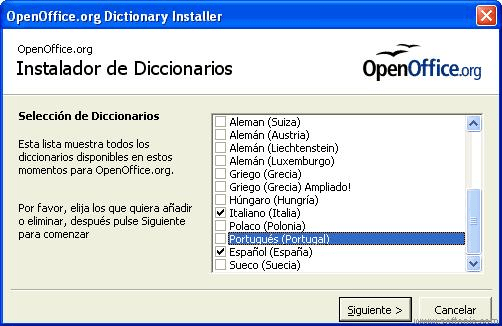 DictInstall