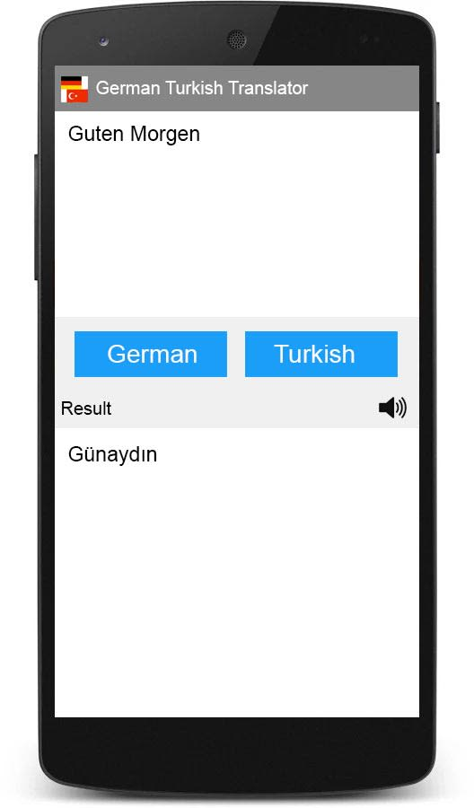 German Turkish Translator