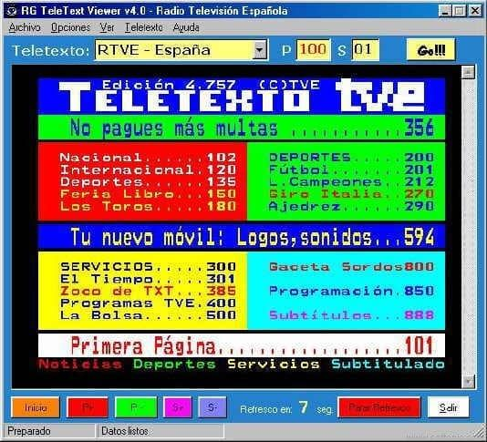RG TeleText Viewer