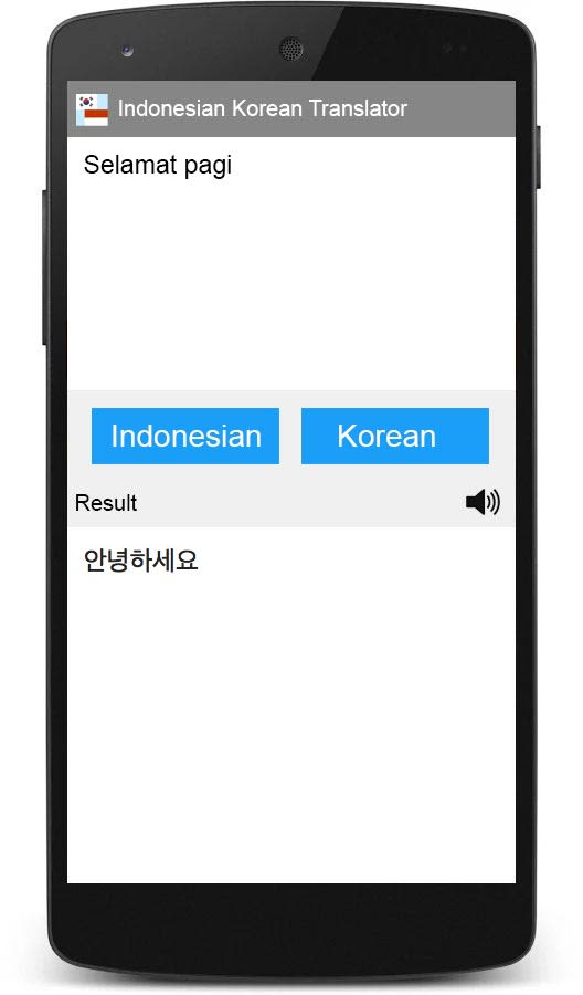 Indonesian Korean Translator