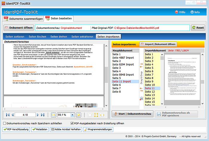 identPDF-ToolKit
