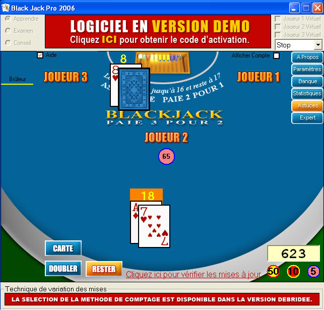blackjack téléchargement gratuit windows 7