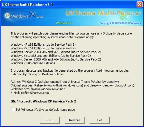 UXTheme Multi-Patcher