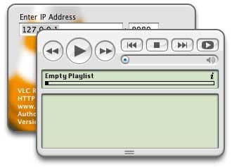 VLC Remote Interface Widget
