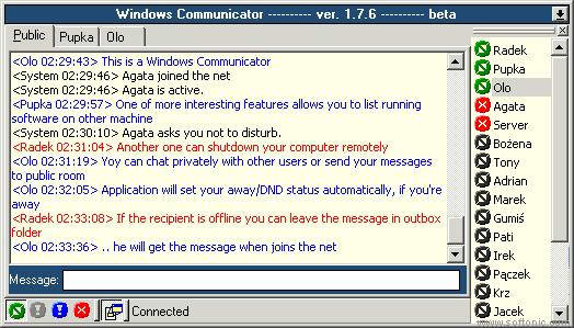 Windows Communicator