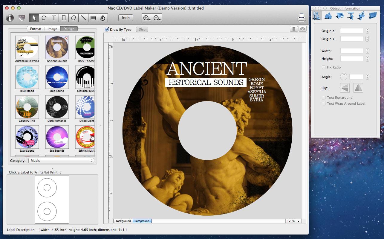 Cd Label Maker For Mac Free Download