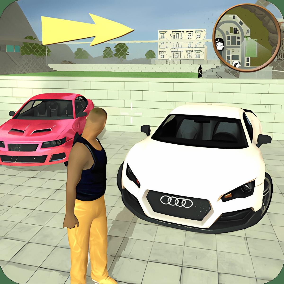 Robo De Autos Mafia Juego