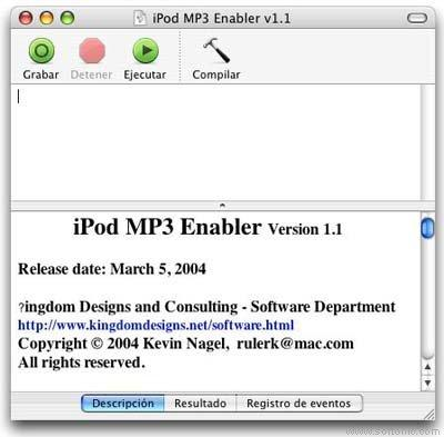 iPod MP3 Enabler